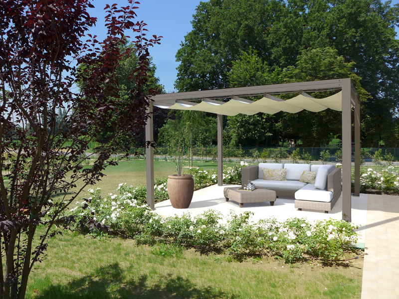 arredata tortora veranda giardino