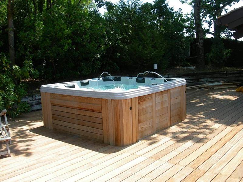Spa legno esterna