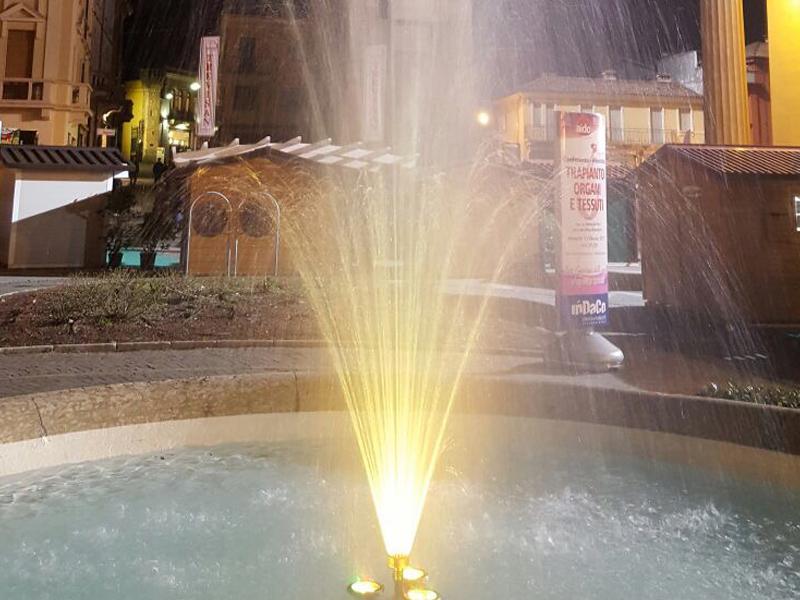 Realizzazione fontane pubbliche e private